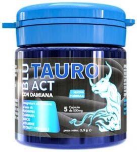 blu-tauro act compresse