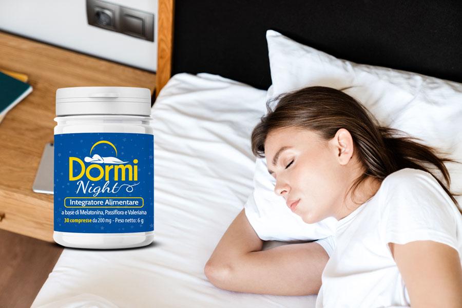 dormi night integratore