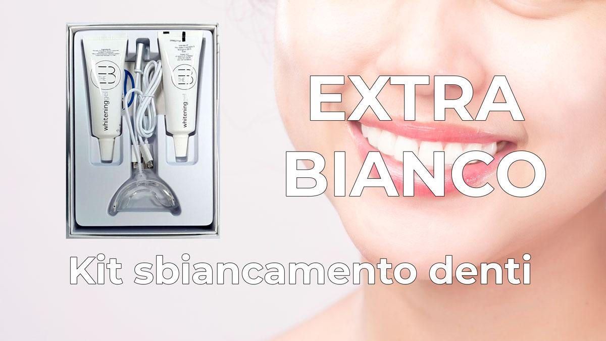 Extra Bianco kit sbiancamento denti
