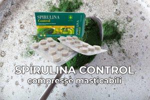 spirulina control compresse