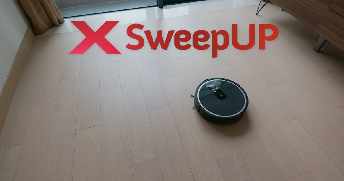 x sweep up aspirapolvere robot