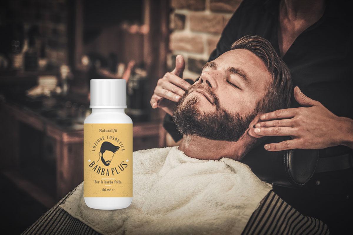 barba plus lozione per barba folta
