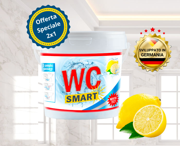 wc smart polvere disincrostante wc