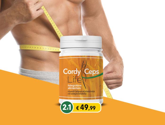 cordyceps life integratore metabolismo
